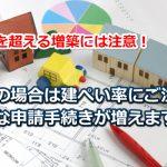 増築と建ぺい率