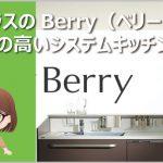 トクラスのBerry(ベリー)が評判の高いシステムキッチン!