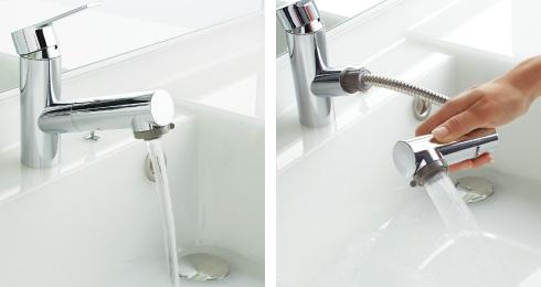 節水と節約ができる水栓
