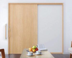 ドアを開け閉めしやすく改善!開き戸を一本引き戸に取り替える金額