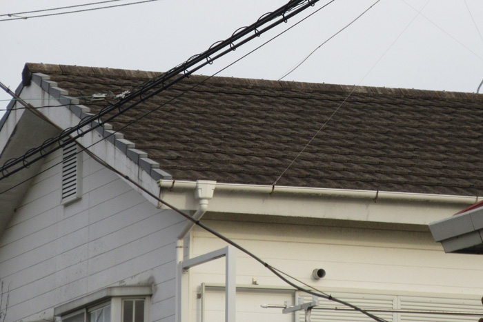 アパートの屋根修繕