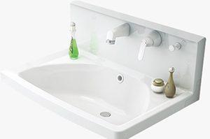 オンディーヌの洗面ボウルや排水部分は「使い勝手が良い」仕様になっています
