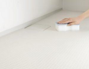 汚れが落としやすく丈夫な床材
