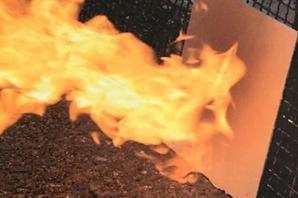 ガイナは国土交通省認定の不燃効果&塗料の臭いも気にならない安全塗料