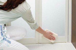 汚くなりがちなドアの部分もアライズなら「汚れにくくカビの生えないドア」に!