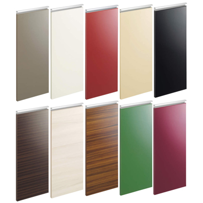 レシピアの扉は28のデザイン&カラーが用意されている!