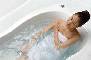 リノビオVの「キレイ浴槽」は汚れが付きにくくお掃除が簡単!