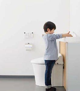 リフォレのコーナー手洗い器