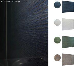 高級ホテルやスパの様なデザインが人気!ソレオの壁パネル